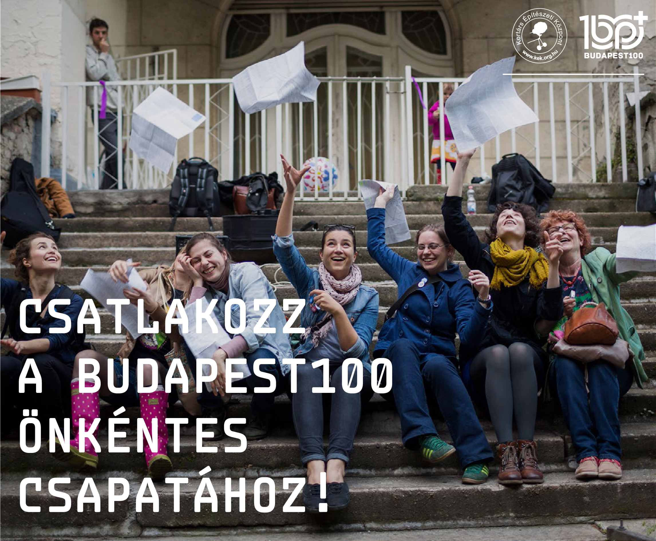 Csatlakozz a Budapest100 önkéntes csapatához!