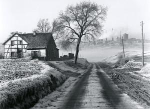 20_Tájkép Essenben, háttérben bányával, 1928
