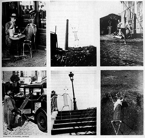 Man Ray, Max Morise és Marcel Duhamel, Wzzz Úr