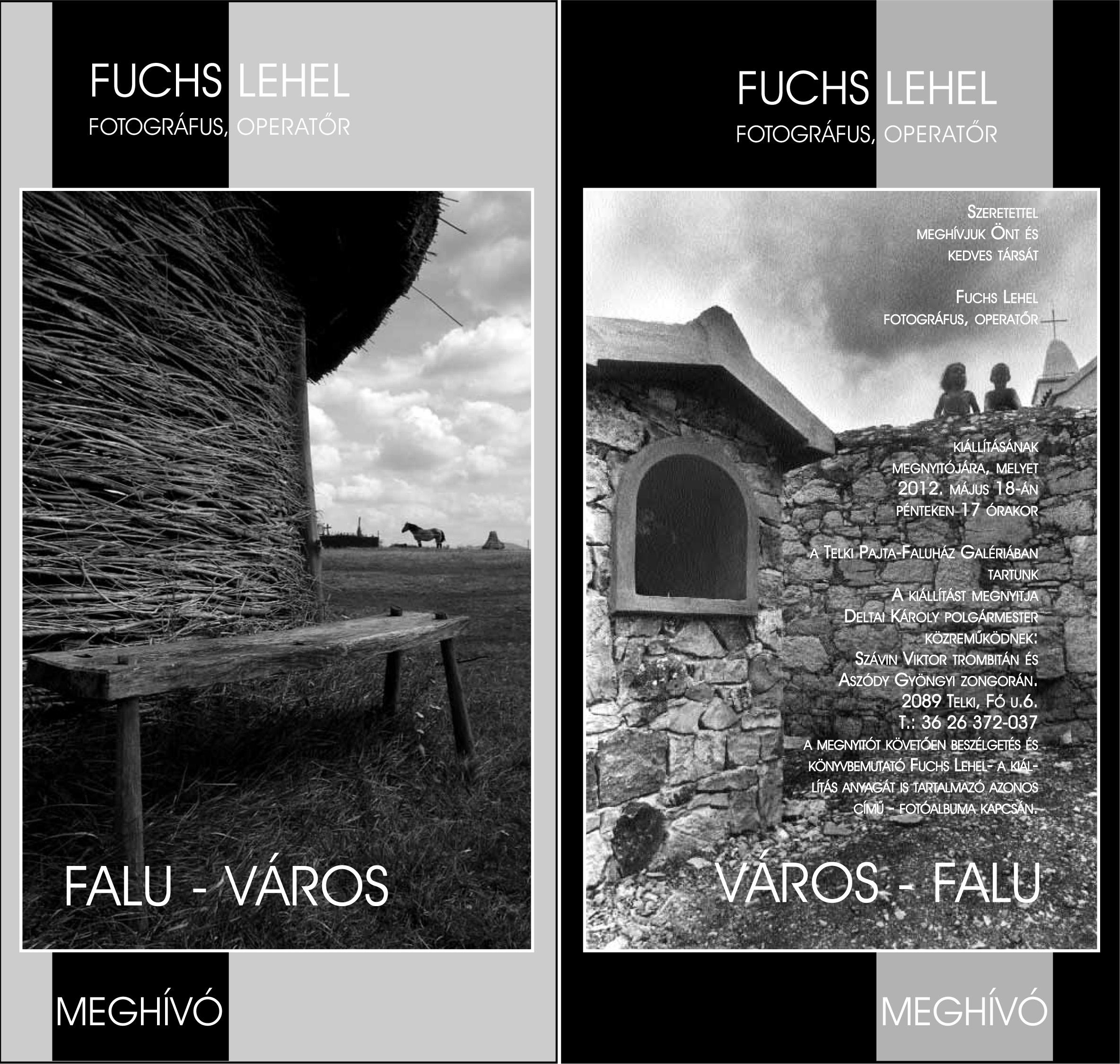Fuchs Lehel: FALU-VÁROS
