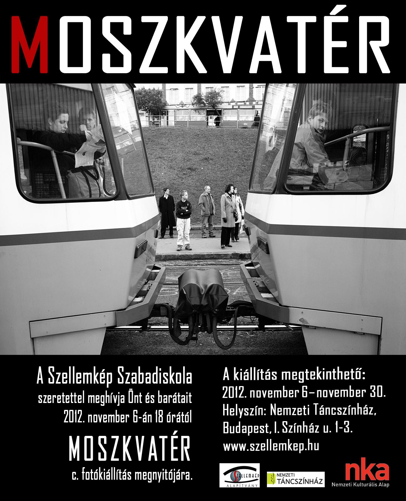 Moszkvatér című fotókiállítás a Fotóhónap 2012 szervezésében